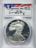 Modern Bullion Coins, 1988-S $1 Silver Eagle, Moy Signature PR70 Deep Cameo PCGS. PCGS Population: (62). NGC Census: (0). ...