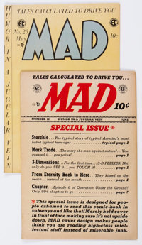 MAD Comics #12 and 23 Group (EC, 1954-55) Condition: Average VG.... (Total: 2 Comic Books)
