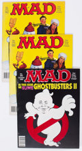 Magazines:Mad, MAD Magazine Group of 30 (EC, 1989-93) Condition: Average FN....(Total: 30 Comic Books)
