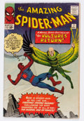 Silver Age (1956-1969):Superhero, The Amazing Spider-Man #7 (Marvel, 1963) Condition: Apparent GD+....