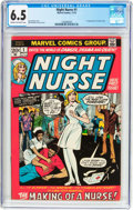 Bronze Age (1970-1979):Romance, Night Nurse #1 (Marvel, 1972) CGC FN+ 6.5 Cream to off-whitepages....