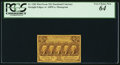 Fractional Currency:First Issue, Fr. 1281 25¢ First Issue PCGS Very Choice New 64.. ...
