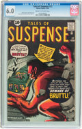 Silver Age (1956-1969):Horror, Tales of Suspense #22 (Marvel, 1961) CGC FN 6.0 Cream to off-whitepages....
