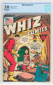 Whiz Comics #32 (Fawcett Publications, 1942) CBCS FN/VF 7.0 Off-white to white pages