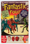 Silver Age (1956-1969):Superhero, Fantastic Four #11 (Marvel, 1963) Condition: GD+....