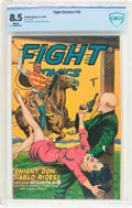 Golden Age (1938-1955):Adventure, Fight Comics #45 (Fiction House, 1946) CBCS VF+ 8.5 White pages....