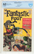 Silver Age (1956-1969):Superhero, Fantastic Four #2 (Marvel, 1962) CBCS VG 4.0 Off-white to white pages....