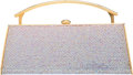 "Luxury Accessories:Bags, Judith Leiber Full Bead Iridescent Crystal Top Handle MinaudiereEvening Bag. Excellent Condition. 7.5"" Width x 3"" Height ..."