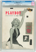 Magazines:Miscellaneous, Playboy #1 (HMH Publishing, 1953) CGC GD+ 2.5 Off-white to white pages.... (Total: 2 Comic Books)