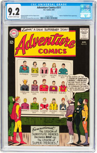 Adventure Comics #311 (DC, 1963) CGC NM- 9.2 Off-white to white pages