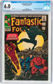 Fantastic Four #52 (Marvel, 1966) CGC FN 6.0 Off-white to white pages