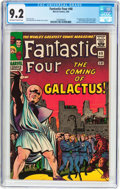 Silver Age (1956-1969):Superhero, Fantastic Four #48 (Marvel, 1966) CGC NM- 9.2 Off-white to white pages....
