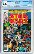 Bronze Age (1970-1979):Science Fiction, Star Wars #2 (Marvel, 1977) CGC NM+ 9.6 White pages....