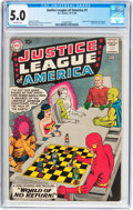 Silver Age (1956-1969):Superhero, Justice League of America #1 (DC, 1960) CGC VG/FN 5.0 Off-white pages....