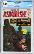Silver Age (1956-1969):Horror, Tales to Astonish #5 (Marvel, 1959) CGC FN 6.0 Off-white to whitepages....