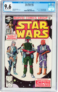 Modern Age (1980-Present):Science Fiction, Star Wars #42 (Marvel, 1980) CGC NM+ 9.6 Off-white to white pages....