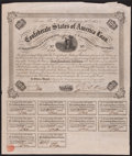 Confederate Notes:Group Lots, Ball 212 Cr. 120 $100 1863 Bond Fine with all coupons and signed byRose.. ...