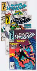 Modern Age (1980-Present):Superhero, The Amazing Spider-Man Group of 4 (Marvel, 1984-88) Condition:Average NM-.... (Total: 4 Comic Books)