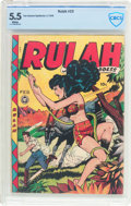 Golden Age (1938-1955):Miscellaneous, Rulah Jungle Goddess #23 (Fox Features Syndicate, 1949) CBCS FN- 5.5 White pages....