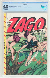 Zago #2 (Fox Features Syndicate, 1948) CBCS FN 6.0 Off-white to white pages