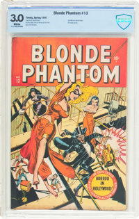 Blonde Phantom #13 (Timely, 1947) CBCS GD/VG 3.0 White pages