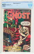 Golden Age (1938-1955):Horror, Ghost #11 (Fiction House, 1954) CBCS VG+ 4.5 Off-white to whitepages....