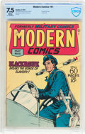 Golden Age (1938-1955):War, Modern Comics #61 (Quality, 1947) CBCS VF- 7.5 White pages....