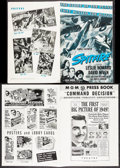 "Movie Posters:War, Spitfire & Other Lot (RKO, 1942). Pressbook (20 Pages, 11"" X17"") & Uncut Pressbook (20 Pages, 12.25"" X 17""). Drama.. ...(Total: 2 Items)"