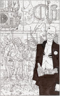 Original Comic Art:Covers, Geof Darrow Transmetropolitan #23 Cover Original Art(DC/Vertigo, 1999)....