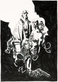Original Comic Art:Covers, Mike Mignola - Hellboy: Conqueror Worm-Related Original Art (c.2001)....
