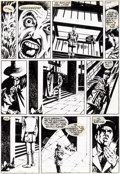 Original Comic Art:Panel Pages, David Lloyd Warrior Magazine #4 Story Page 6 V for VendettaOriginal Art (Quality Communications, 1982)....
