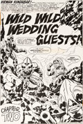 Original Comic Art:Splash Pages, Jack Kirby and Mike Royer Mister Miracle #18 Splash Page 4Original Art (DC, 1974)....