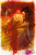 Original Comic Art:Covers, Frank Miller and Bill Sienkiewicz Lone Wolf and Cub: DeluxeEdition #1 Unused Cover Painting Original Art (First, ...