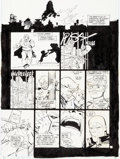"Original Comic Art:Panel Pages, Frank Miller and Klaus Janson Batman: The Dark Knight Returns #4 ""The Dark Knight Falls"" Page 20 Original Art (DC,..."