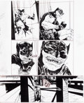 Original Comic Art:Panel Pages, Paul Pope Batman: Year 100 #2 Story Page 47 Original Art(DC, 2006)....