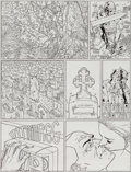 Original Comic Art:Panel Pages, Geof Darrow Hard Boiled #1 Story Page 28 Original Art (DarkHorse, 1990)....