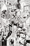Original Comic Art:Panel Pages, Mark Bagley and Randy Emberlin Amazing Spider-Man #361 StoryPage 12 Original Art (Marvel, 1992)....
