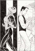 Original Comic Art:Panel Pages, John Romita, Jr. and Scott Hanna Amazing Spider-Man V2#500Story Page 9 Original Art (Marvel, 2003)....