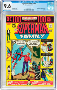 The Superman Family #164 (DC, 1974) CGC NM+ 9.6 Off-white to white pages