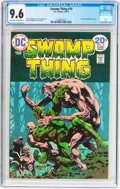 Bronze Age (1970-1979):Horror, Swamp Thing #10 (DC, 1974) CGC NM+ 9.6 Off-white to white pages....