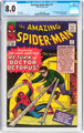 The Amazing Spider-Man #11 (Marvel, 1964) CGC VF 8.0 Off-white to white pages