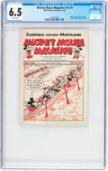 Platinum Age (1897-1937):Miscellaneous, Mickey Mouse Magazine Dairy Giveaway V2#7 (Walt Disney Productions,1935) CGC FN+ 6.5 White pages....