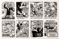 Original Comic Art:Complete Story, Steve Mad The Grim Reefer Complete 8-Page Story Original Art(1974)....