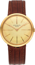 Timepieces:Wristwatch, Patek Philippe Ref. 2590 Gold Gent's Wristwatch . ...