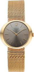 Timepieces:Wristwatch, Rolex Cellini Ref. 606 14K Gold Wristwatch Retailed by Tiffany & Co. . ...