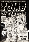Original Comic Art:Covers, Jack Sparling Tomb of Terror #4 Cover Original Art(Harvey, 1952)....