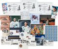Explorers:Space Exploration, Space Memorabilia Collection: Autographs, Medals, Stamps &Covers, Photos, Beta Cloths, and More....