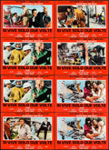 """Movie Posters:James Bond, You Only Live Twice (United Artists, R-1970s). Italian Photobustas (8) (18.25"""" X 26.25""""). James Bond.. ... (Total: 8 Items)"""