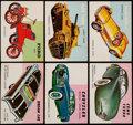 "Non-Sport Cards:Lots, 1954-55 Topps ""World On Wheels"" Collection (101)...."