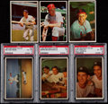 Baseball Cards:Lots, 1953 Bowman Color Baseball Collection (74)....